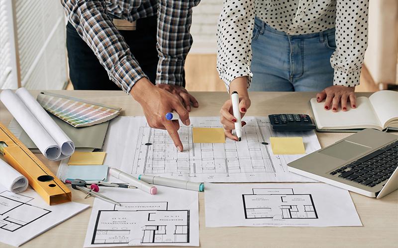 Planen und Bauen